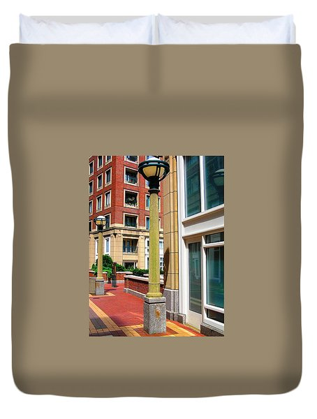 Boston Interior Duvet Cover