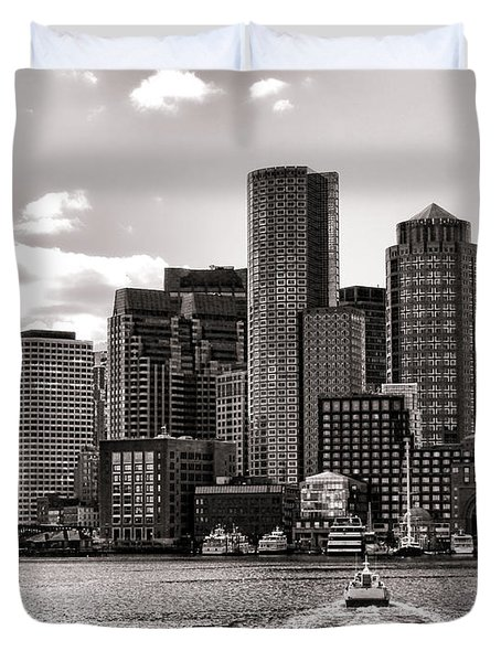 Boston Duvet Cover