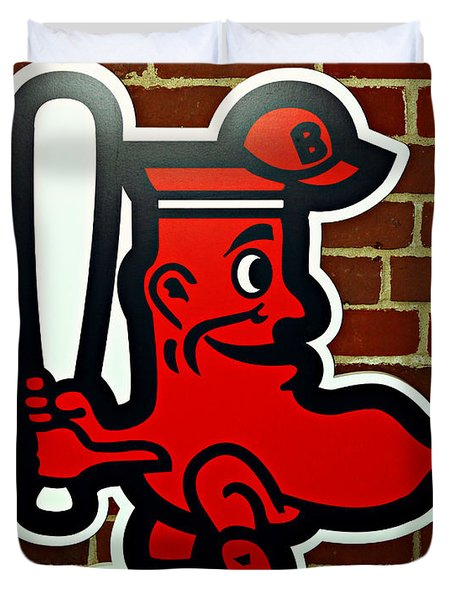 Boston Red Sox 1950s Logo Photograph By Stephen Stookey