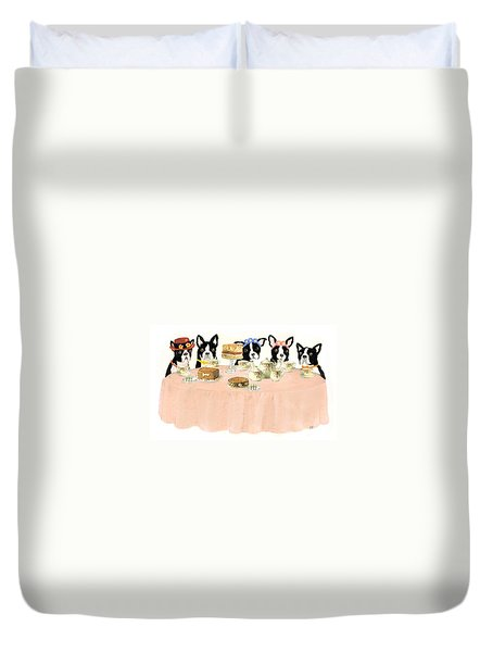 Boston Tea Party Duvet Cover
