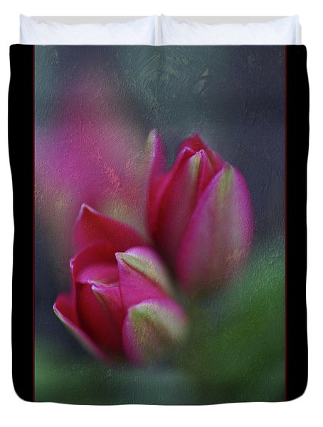 Duvet Cover featuring the photograph Botanic by Annie Snel