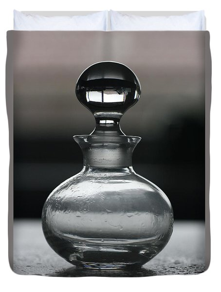 Bottle Duvet Cover by Joy Watson