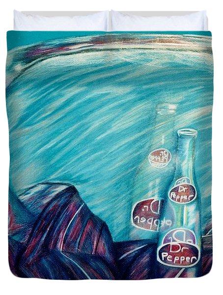 Bottle Reflection Duvet Cover