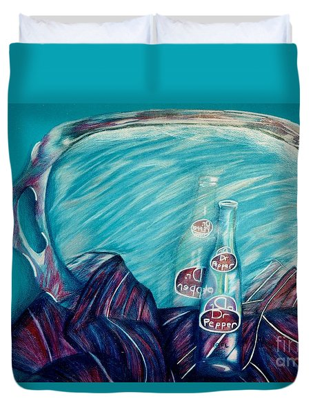 Bottle Reflection Duvet Cover