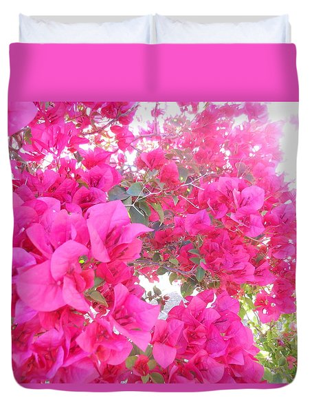 Bougainvillea Duvet Cover by Kay Gilley