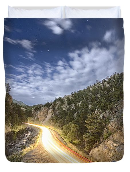 Boulder Canyon Dream Duvet Cover by James BO  Insogna