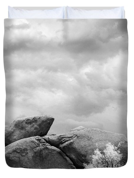 Boulders In Another Light Duvet Cover