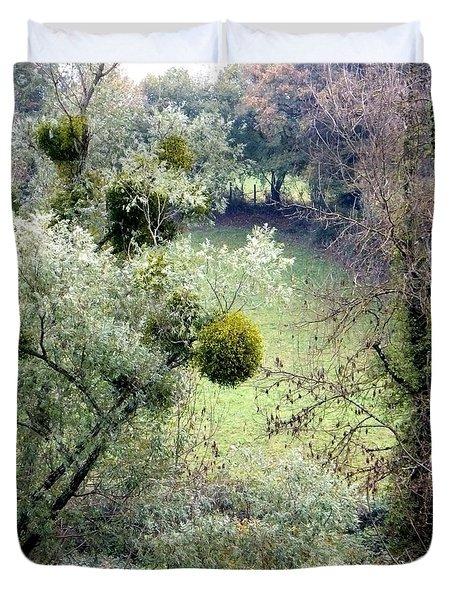 Mistletoe Ball Duvet Cover