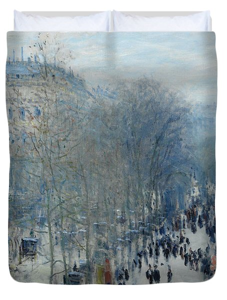 Boulevard Des Capucines Duvet Cover