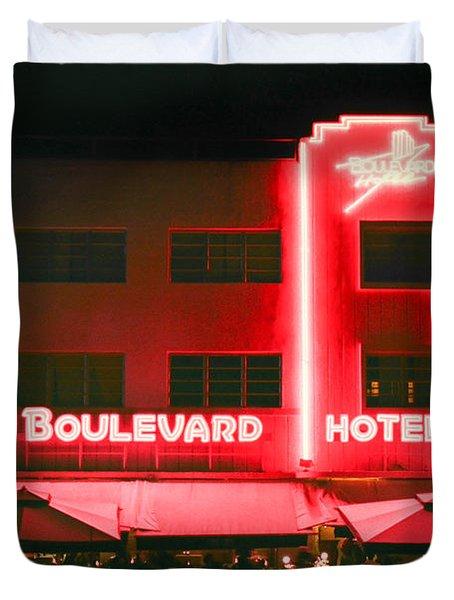 Boulevard Hotel Duvet Cover