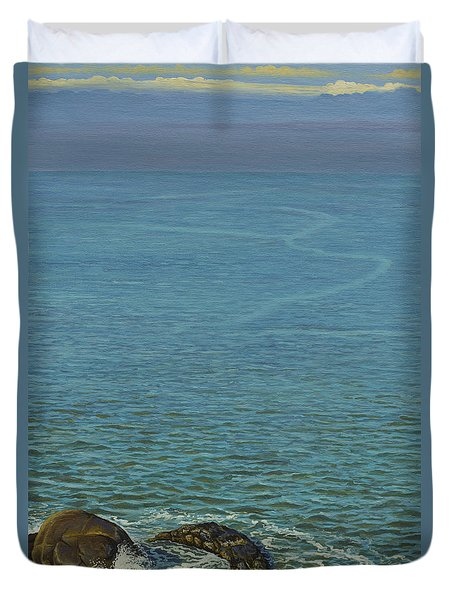 Boundless Ocean Duvet Cover