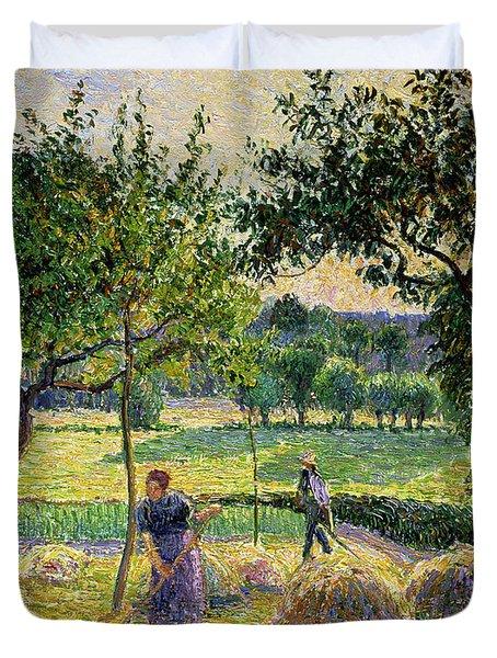Bountiful Harvest, 1893 Duvet Cover