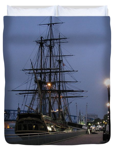 Duvet Cover featuring the photograph Bounty by Greg Patzer