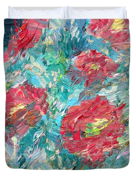 Bouquet Duvet Cover by Fabrizio Cassetta