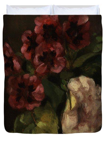 Bouquet Of Flowers Duvet Cover