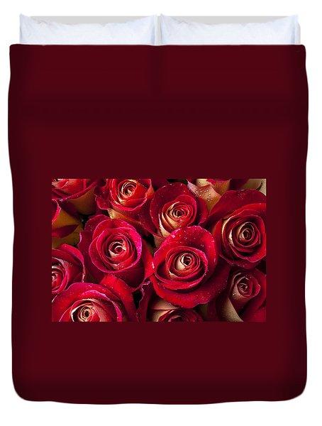 Boutique Roses Duvet Cover