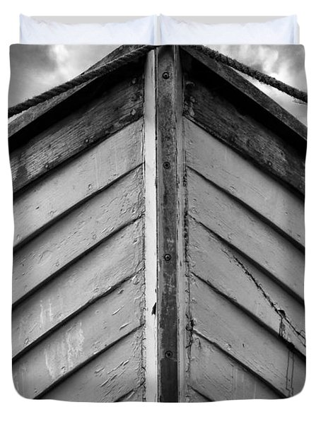 Bow  Duvet Cover by Stelios Kleanthous