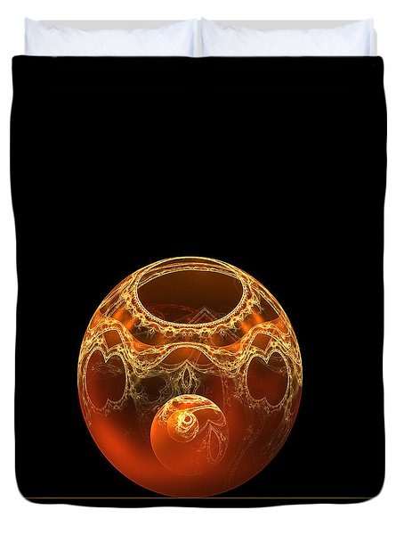 Bowl And Orb Duvet Cover