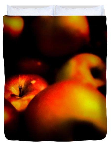 Bowl Of Apples Duvet Cover