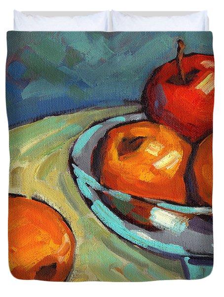 Bowl Of Fruit 2 Duvet Cover