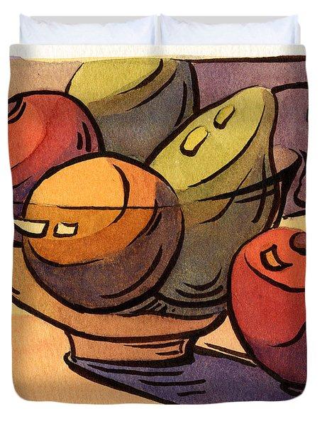 Bowl Of Fruit 8 Duvet Cover