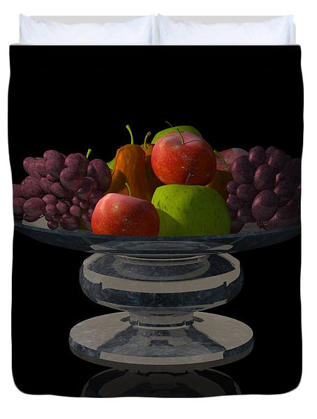 Bowl Of Fruit... Duvet Cover by Tim Fillingim
