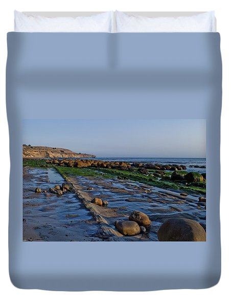 Bowling Ball Beach 01 Duvet Cover