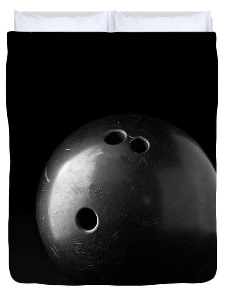 Bowling Ball Duvet Cover