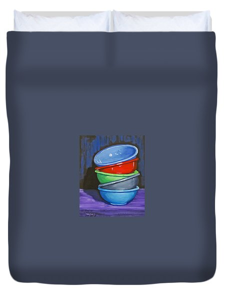 Bowls Duvet Cover