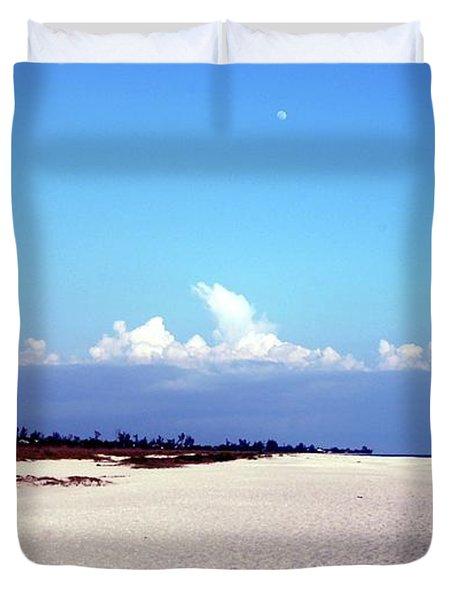 Bowman's Beach Duvet Cover by Kathleen Struckle