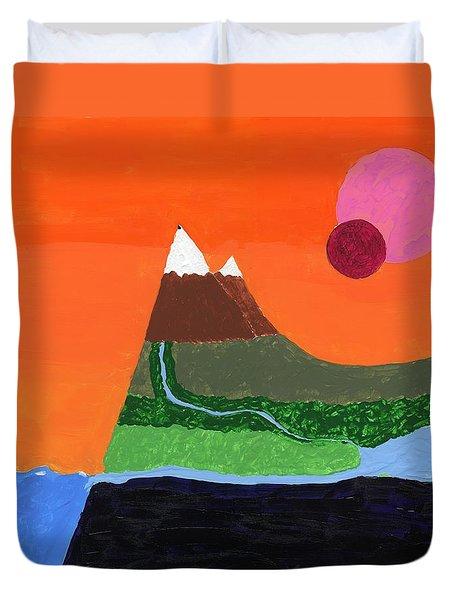 Bradbury Landscape Duvet Cover
