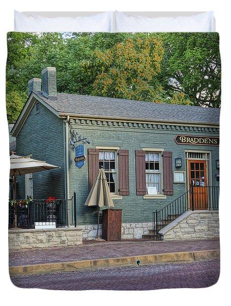 Braddens Main Street St Charles Mo Dsc00874  Duvet Cover