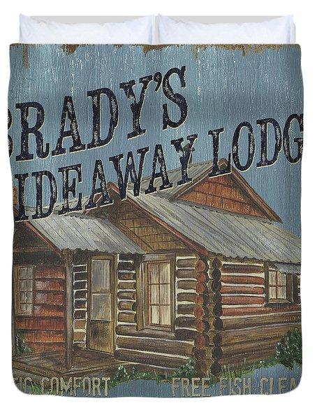 Brady's Hideaway Duvet Cover