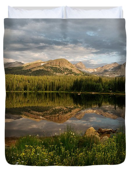 Brainard Lake Duvet Cover