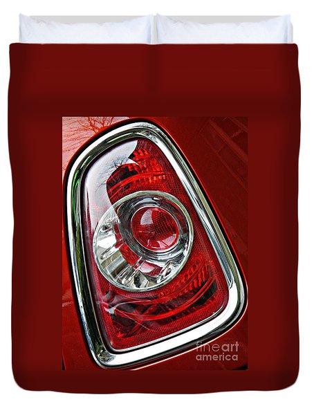 Brake Light 25 Duvet Cover by Sarah Loft