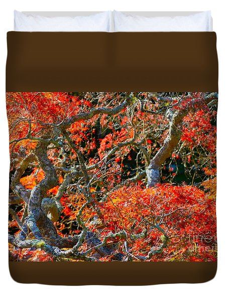Branches Of Color Duvet Cover