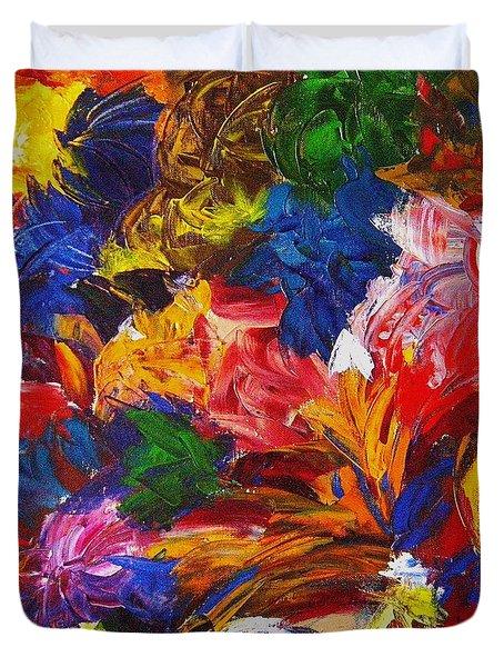 Brazilian Carnival Duvet Cover