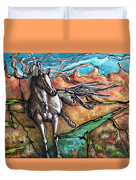 Break Free Duvet Cover