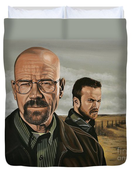 Breaking Bad Duvet Cover by Paul Meijering