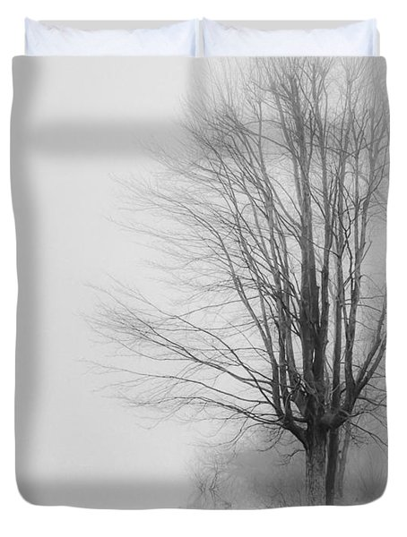 Duvet Cover featuring the photograph Breaking Through by Greg Jackson
