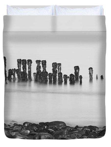 Breakwater Squared Duvet Cover by Anne Gilbert