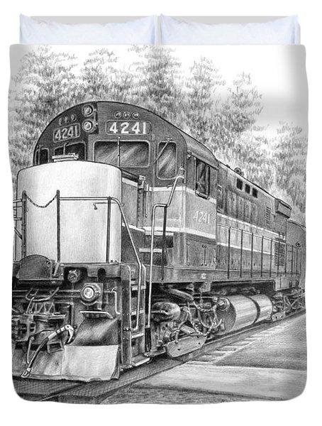 Brecksville Station - Cuyahoga Valley National Park Duvet Cover