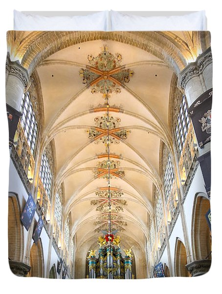 Breda Cathedral Duvet Cover