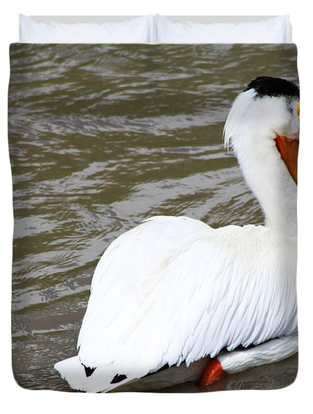 Duvet Cover featuring the photograph Breeding Plumage by Alyce Taylor