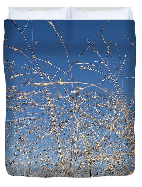 Duvet Cover featuring the photograph Breeze by Sara  Raber
