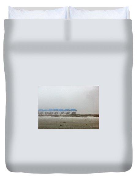 'brella Pattern Duvet Cover