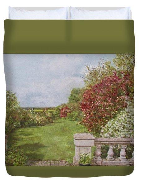 Brewers Garden Duvet Cover