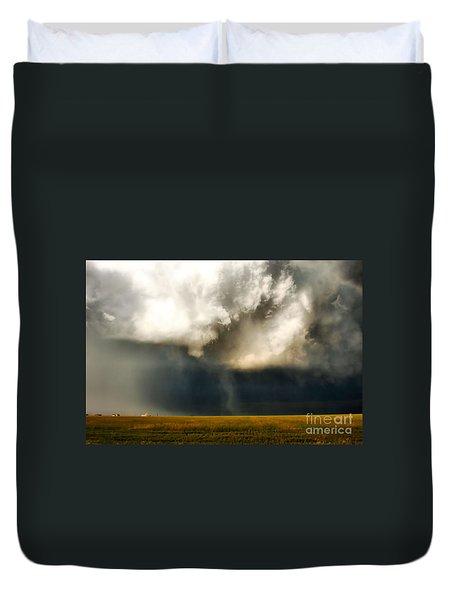 Brewing Storm Duvet Cover