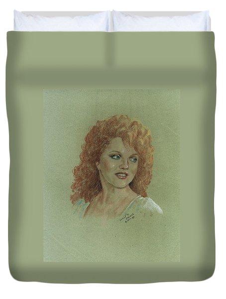 Kentucky Beauty Duvet Cover
