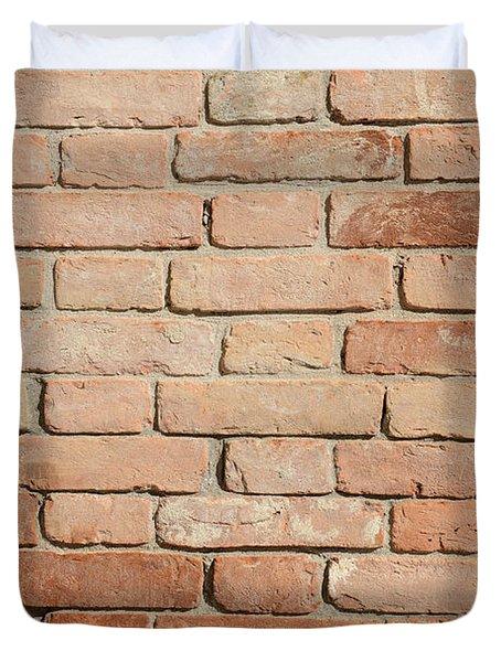 Brick Background Duvet Cover